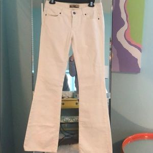 Paige white Flare Jeans size 27
